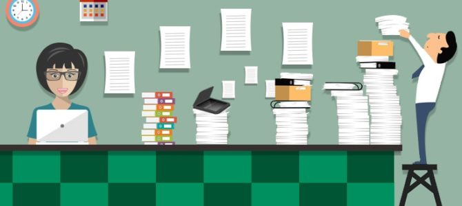 How to Easily Become a Paperless Office