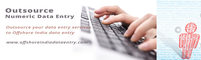Numeric Data Entry Services