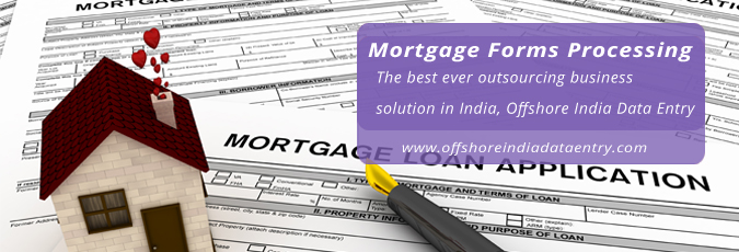 Mortgage Forms Processing