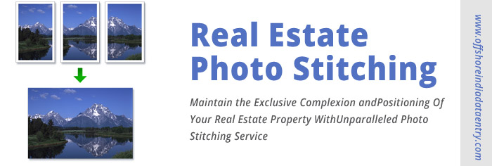 Real Estate Photo Stitching