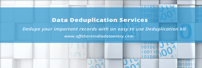 Data Deduplication Services